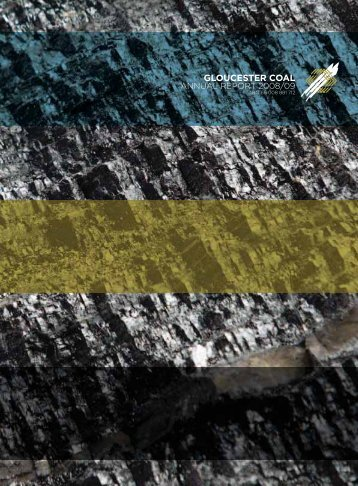 Gloucester Coal: Annual Report - Proof Communications