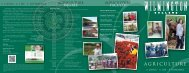 Agriculture brochure - Wilmington College