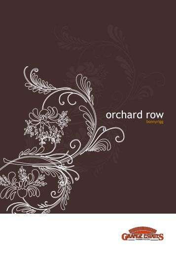 orchard row - Walker Group