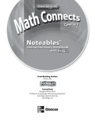 Noteables Interactive Study Notebook (26491.0K) - McGraw-Hill ...