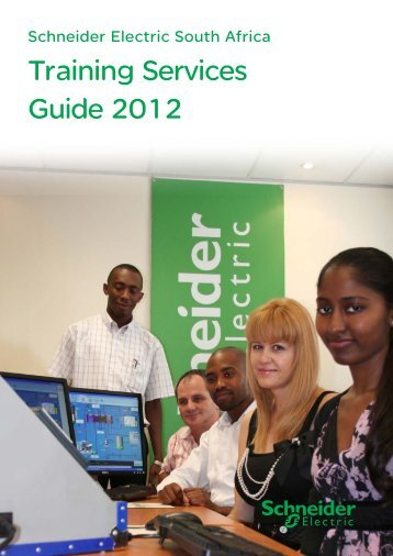 Training Services Guide 2012 - Schneider Electric