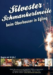 Silvester 2010.cdr - Metzgerei Gasthof Hotel Oberhauser in Egling