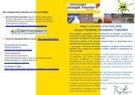Parcours Tourisme, Innovation, Transition - Institut de Géographie ...