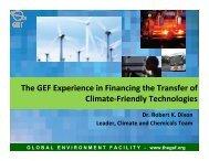 GLOBALENVIRONMENTFACI LITY - www.thegef.org - unido