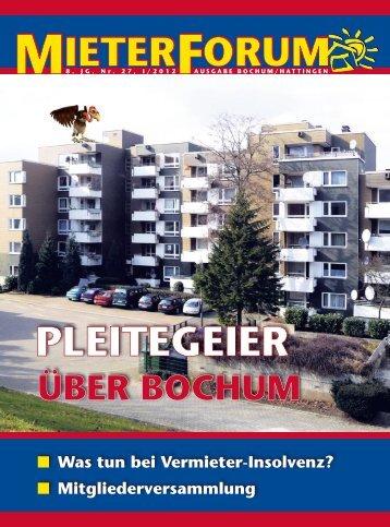 Bochum passt sich an - Mieterverein