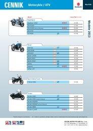 Cennik (PDF) - Suzuki Motor Poland