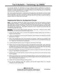 Tech Bulletin – Tenoning Jig 29840 - Rockler.com