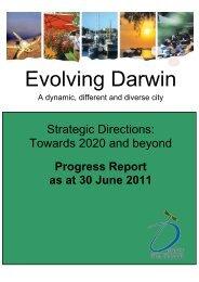 Evolving Darwin - Darwin City Council - Northern Territory Government