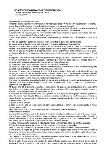 Discorso - Istituto Comprensivo Armando Diaz - Venezia Castello ...