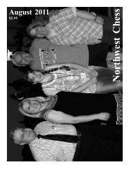 201108 - Northwest Chess!