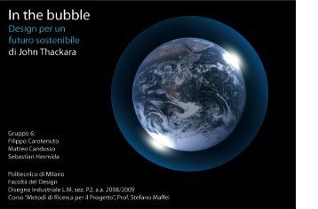 In the bubble - newitalianlandscape
