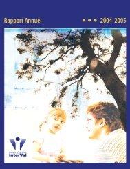 Rapport annuel 2004-2005Fichier Adobe PDF 4 552,09 kb