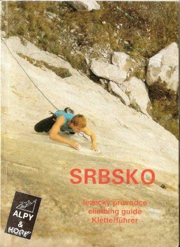Page 1 Page 2 SRBSKO Iezecky průvodce climbing guide ...