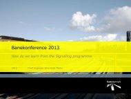 Banekonference 2013