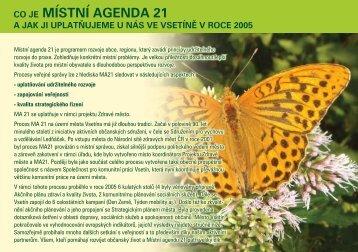 místní agenda 21 - Národní síť Zdravých měst ČR