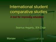 International student comparative studies