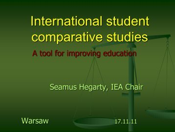 International student comparative studies