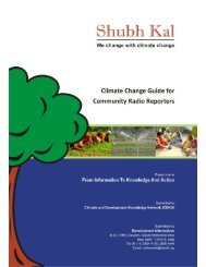 Climate Change Guide for Community Radio ... - CDKN Global