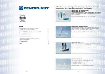 Adhesivos especiales y productos especiales de limpieza ...