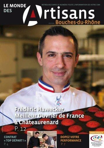 Frédéric Hawecker, Eeilleur Ouvrier de France à Ch€teaurenard
