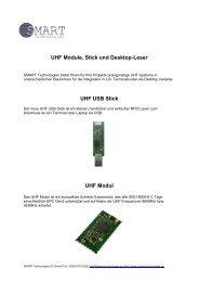 UHF Modul - SMART Technologies ID GmbH