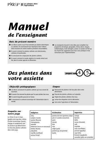 5 Les plantes dans - Nomad Systems