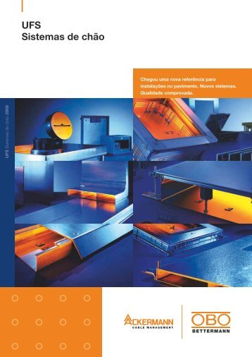 UFS Sistemas de chão - OBO Bettermann