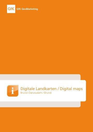 Digitale Landkarten / Digital m aps - Bacher