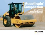 AccuGrade Compaction - GPS Mapping and Measurement for Soil ...