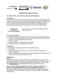Bishopstone Circular Walk - full details - Walk4Life
