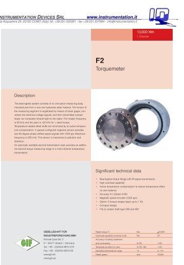 Torquemeter - INSTRUMENTATION DEVICES