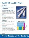 FiberFlo® Hollow Fiber Cartridge Filters - Liquidyne - Page 2