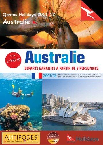 Australie - Antipodes Voyages