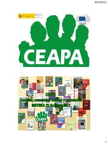 Familias, comunidad escolar y prevención - Irefrea