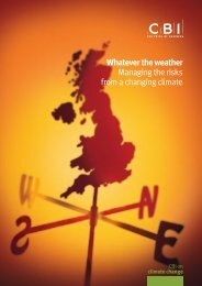 Whatever the weather Managing the risks from a changing ... - ukcip