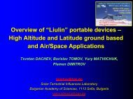 """Overview of """"Liulin"""" portable devices – High Altitude and Latitude ..."""