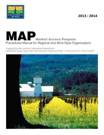 Manual (PDF) - California Wine Export Program