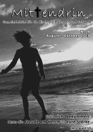 Nr. 9 - August/September/Oktober 2013 - Kirchengemeinden Borgeln