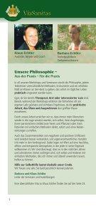 Ausbildungsprogramm! - ViaSanitas - Page 2