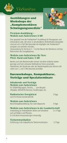 Ausbildungsprogramm! - ViaSanitas - Page 4