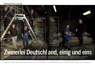 Zweierlei Deutschland [2 MB] - Dieter Schnaas