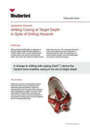 Setting Casing at Target Depth in Spite of Drilling Hazards
