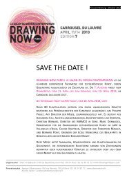 SAVE THE DATE ! - Observatoire