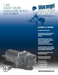 1 hp cast iron shallow well jet pUMp - Pump Express