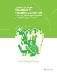 Le Foyer de jeunes travailleurs et travailleuses de Montréal et le ...