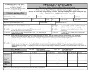 EMPLOYMENT APPLICATION - Sacramento Waldorf School