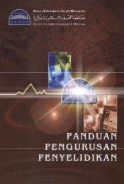 Panduan Pengurusan Penyelidikan KUIM.pdf - USIM