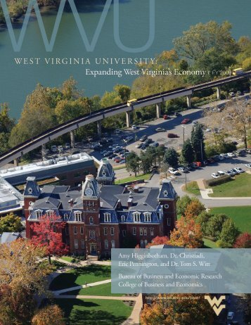 ExpandingWest Virginia's Economy - WVU College of Business and ...