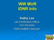 WW MUR IDNR Info