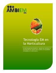 Uso del EM™ en la Horticultura